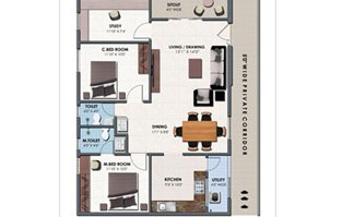 2/3 BHK Apartments for sale near Mangalagiri